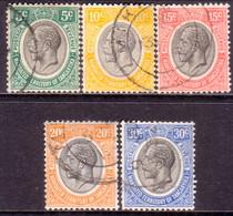 TANGANYIKA 1927-31 SG #93//98a Selection Of 5 Used Stamps - Kenya, Uganda & Tanganyika