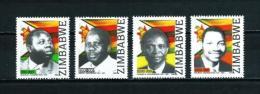 Zimbabwe  Nº Yvert  596/9  En Nuevo - Zimbabwe (1980-...)