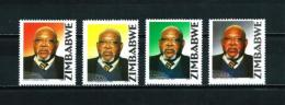 Zimbabwe  Nº Yvert  548/51  En Nuevo - Zimbabwe (1980-...)