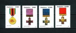 Zimbabwe  Nº Yvert  530/3  En Nuevo - Zimbabwe (1980-...)