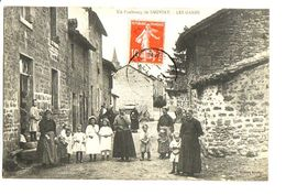 Un Faubourg De Sauviat - Les Ganes / Editions Lauby - Other Municipalities