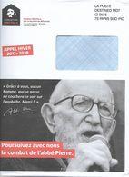 Destineo MD7 Paris Sud Sur Env Illustrée Recto Verso Fondation Abbé Pierre - Other