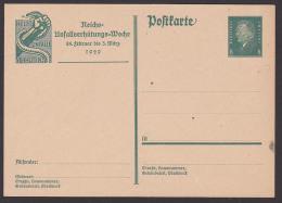 Germany P187 Deutsches Reich GA Reichsunfallverhütungs-Woche 1929 Äskalupstab - Duitsland