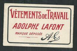 Calendrier 1924 ,3 Volets, établissements Adolphe Lafont à Lyon (Rhône) Distribué à Beziers (Hérault) - Calendarios