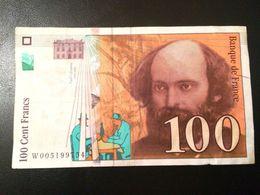 "FRANCE-""billet 100 Francs Cezanne""-1997 - 1962-1997 ''Francs''"