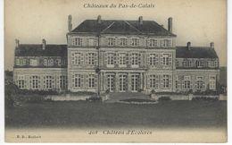 CPA 62 ( Pas De Calais ) - Chateau D'ECOIVRES - Frankrijk