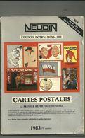 Neudin, L'officiel International Des Cartes Postales, édition 1983 (9ième Année) - Livres