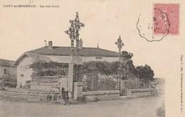 LIGNY EN BRIONNAIS     LES TROIS CROIX - France