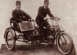 Carte Moderne Originale Motocyclisme & Motards - Arch. De La Firme Skoda - Postovni Trikolka Type L 1902-10 - Triporteur - Riproduzioni