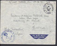 FR - Enveloppe Du S.P 82.180 . T.O.E. Cachet Poste Aux Armées 16-7-1952 Pour Batna Constantine Algérie - B/TB - - Marcophilie (Lettres)