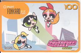 PHILIPPINES(chip) - Cartoon Network, The Powerpuff Girls/Scene 4, CHIP GEM3.1, Exp.date 31/03/04, Used - Philippines