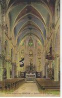 CPA 62 ( Pas De Calais ) - CAMPAGNE Les HESDIN - Interieur De L'Eglise ( Colorisé ) - Frankrijk