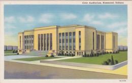 Indiana Hammond Civic Auditorium Curteich - Hammond