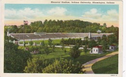 Indiana Bloomington Memorial Stadium Indiana University Curteich - Bloomington
