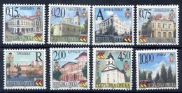 BOSNIAN SERB REPUBLIC 1999 Definitive: Town Views MNH / **.  Michel 111-18 - Bosnia And Herzegovina