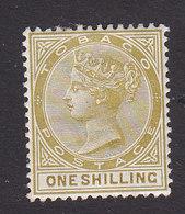 Tobago, Scott #23, Mint Hinged, Victoria, Issued 1882 - Trinidad & Tobago (...-1961)