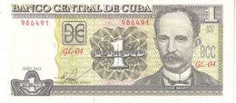 Cuba P 128 1 Peso 2011 UNC - Cuba