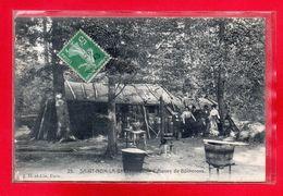 78-CPA SAINT-NOM LA BRETECHE - CABANES DE BUCHERONS - St. Nom La Breteche