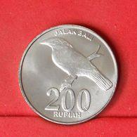 INDONESIA 200 RUPIAH 2003 -    KM# 66 - (Nº20245) - Indonesia