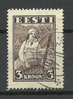ESTLAND ESTONIA 1935 Michel 108 O - Jobs