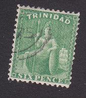 Trinidad, Scott #53, Used, Britannia, Issued 1864 - Trinidad & Tobago (...-1961)