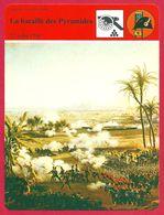 La Bataille Des Pyramides, Egypte, Napoléon Bonaparte, Première République Française - Histoire