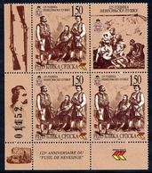BOSNIAN SERB REPUBLIC 2000 Nevesinje Rising Block Of3 + Label  MNH / **.  Michel 173 - Bosnia And Herzegovina