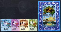 BOSNIAN SERB REPUBLIC 2000 Sydney Olympic Games  MNH / **.  Michel 174-77 + Block 3 - Bosnia And Herzegovina