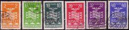 Hungary 1937, Mi 543 - 548, Budapest, International Fair, - Nuovi
