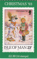 Isle Of Man - Stamp Booklet 23p Christmas - Unmounted Mint - Man (Ile De)
