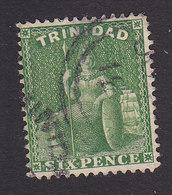 Trinidad, Scott #60a, Used, Britannia, Issued 1876 - Trinidad & Tobago (...-1961)