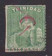 Trinidad, Scott #67, Used, Britannia Surcharged, Issued 1882 - Trinidad & Tobago (...-1961)