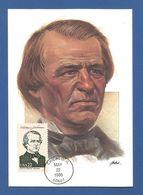 USA 1986 , Andrew Johnson - Maximum Card - First Day Chicago MAY 22 1986 - Maximumkarten (MC)