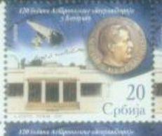 SRB 2007-221 ASTRONOMY MILAN NEDELJKOVICH, SERBIA, 1 X 1v, MNH - Serbien