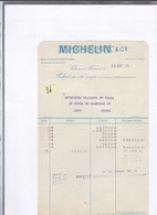 Un Document  :  MIchelin & Cie     Clermont-Ferrand    Année 1931 - Cars