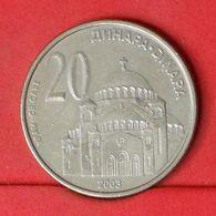 SERBIA 20 DINARA 2003 -    KM# 38 - (Nº20270) - Serbia