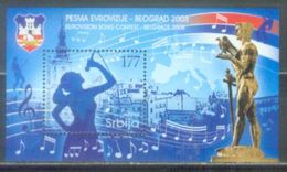 SRB 2008-250 EURO SONG, SERBIA, S/S, MNH - Serbie