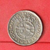 ANGOLA 50 CENTAVOS 1948 -    KM# 72 - (Nº20274) - Portugal