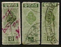 THAILAND, Revenues, Used, F/VF - Thaïlande