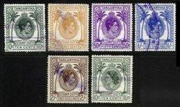 TANGANYIKA, Revenues, B&H 1/5, Used, F/VF, Cat. £ 10 - Kenya, Uganda & Tanganyika