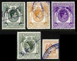 TANGANYIKA, Revenues, Used, F/VF - Tanganyika (...-1932)