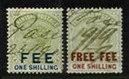 TRINIDAD, Revenues, Used, F/VF, Cat. £ 3 - Trinidad & Tobago (...-1961)