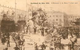 NICE LOT DE 4 CARTES  CARNAVAL 1924  EDITION LEVY - Carnaval