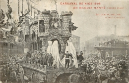 NICE LOT DE 4 CARTES  CARNAVAL  DE NICE - Carnaval