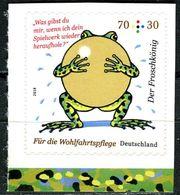 BRD - Michel 3364 Gestanzt Aus MH 108 - ** Postfrisch (L) - 70+30C   Froschkönig, Wohlfahrt 18 - Ausg.: 01.02.2018 - BRD