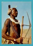CPSM Moutarde Amora -  IV - Swaziland - Swazi Warrior - Advertising