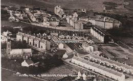 Real Photo Postcard. Aerial View Of Dartmoor Prison Princetown. Devon - England