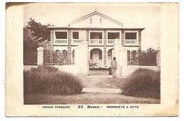 CONGO FRANCAIS - BANGUI - Propriété A. Otto - Congo Français - Autres