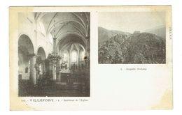 LOZERE 48 VILLEFORT Intérieur De L'Eglise - Villefort