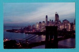 CPSM Moutarde Amora -  IX - New York (U. S. A.) - Vue Aérienne - Advertising